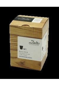 ZALTO  Becher - Coupe Kristal Clear Bardak (1 adet)