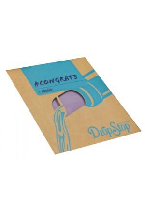 DROPSTOP Minidisk 4'lü (Congrats)