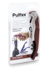 """PULLTEX """"Click Cut"""" Burgundy Tirbuşon (şeffaf ambalaj)"""