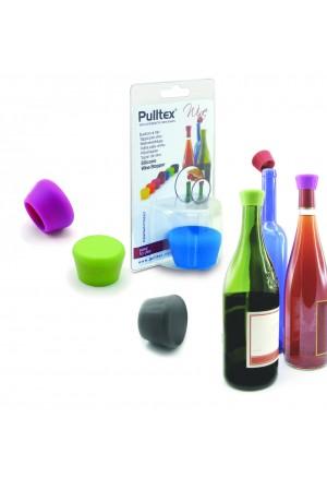 PULLTEX Şampanya Stoperi / Silikon Siyah / AMBALAJSIZ