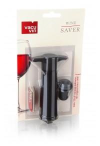 VACUVIN Şarap Vakum Seti / Siyah (1 pompa + 1 tıpa)