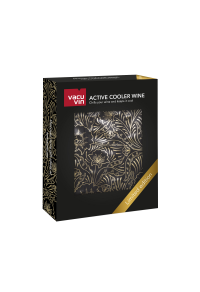 VACUVIN Şarap Soğutucu Kılıf / Gold desenli (Limited Edition)